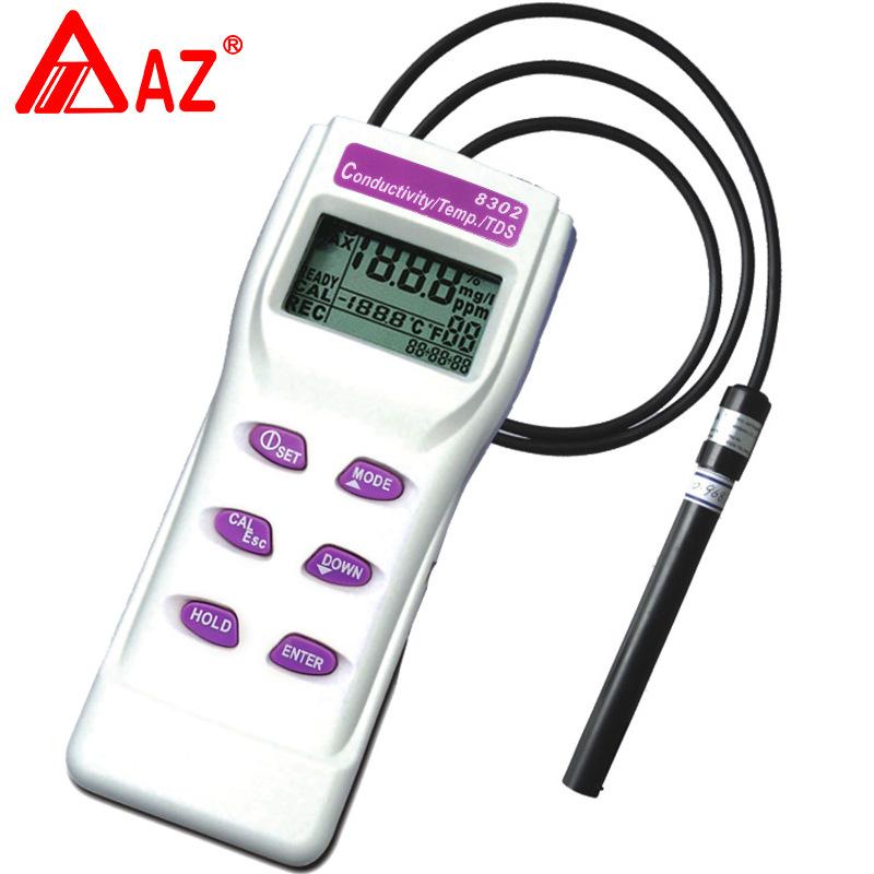 Đài loan Hengxin AZ8302 Độ Dẫn TDS Tester Độ Dẫn Tester Chất Lượng Nước Phân Tích Cụ