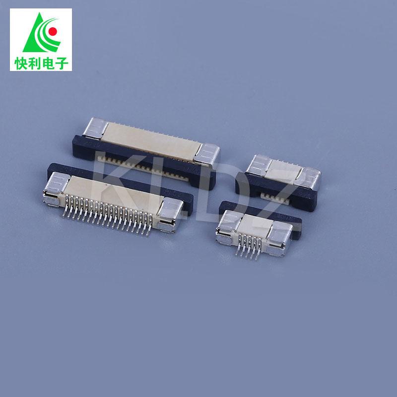 Bộ nối đầu nối FPC nóng series 0.5Mmm H2.0 kéo xuống 4-80P cáp phẳng