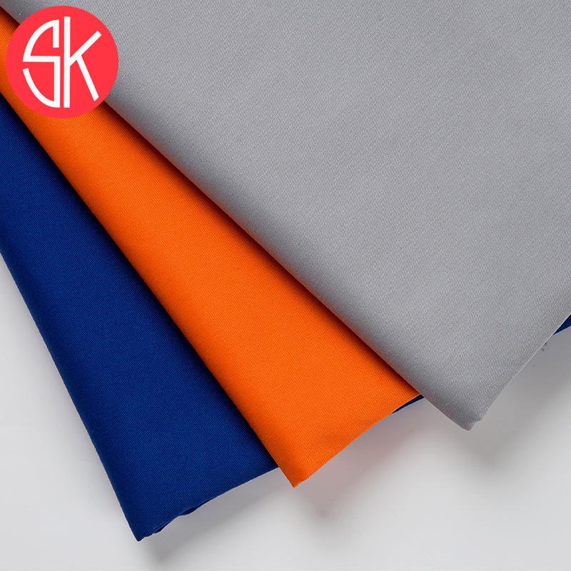 Tại chỗ bán buôn vải polyester-bông pha trộn vải CVC phạt xiên 130 * 70 phụ kiện may mặc nhà máy bán