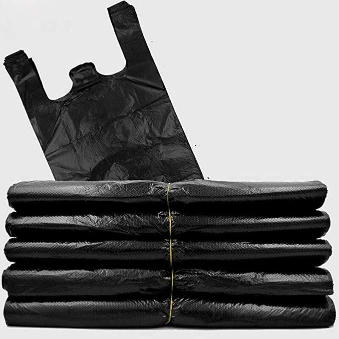 Na Liya đen túi rác dày xách tay hộ gia đình nhà bếp rượu vang lớn vừa và nhỏ vest-phong cách vest t