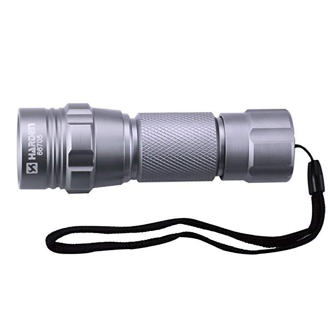 Harden Colinton Đèn pin chói LED Đèn pin tầm xa tiết kiệm năng lượng chống thấm nước và chống sốc đi