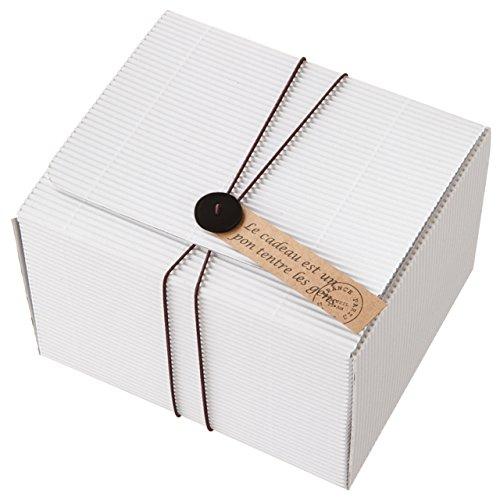 Hộp quà tặng Single-M trắng (10 ảnh) SDW-GB4