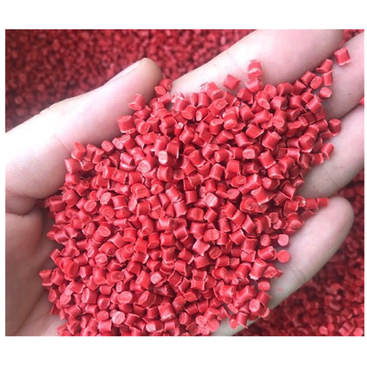 Ép phun lớp đỏ PP vật liệu tái chế Vật liệu gia dụng Đồ chơi vật liệu nhựa Chậu hoa nhựa