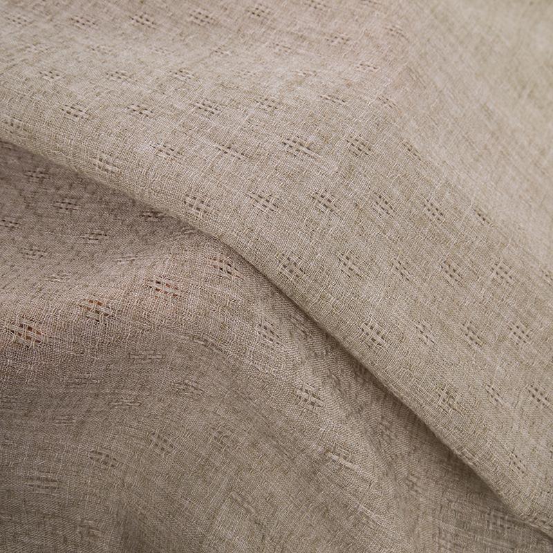 Polyester / bông jacquard kẻ sọc polyester / bông vải nhuộm breathable polyester bông khăn pha trộn
