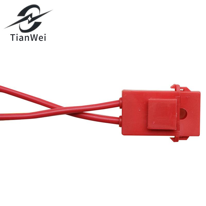 Sản xuất và cung cấp hộp cầu chì ô tô cầu chì gốm giữ nhiệt độ cao bảo vệ thiết bị cầu chì