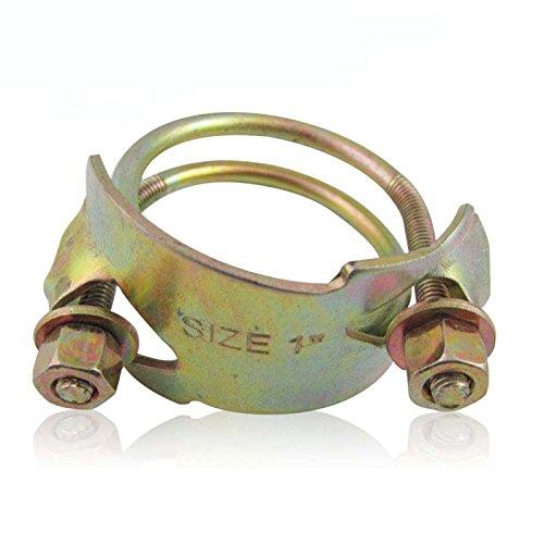 Kẹp kẹp mạnh mẽ kẹp dày kẹp dây đôi kẹp Ống cao su kẹp Hoop 1 inch - Kẹp ống 8.5 inch (dày kẹp mạnh