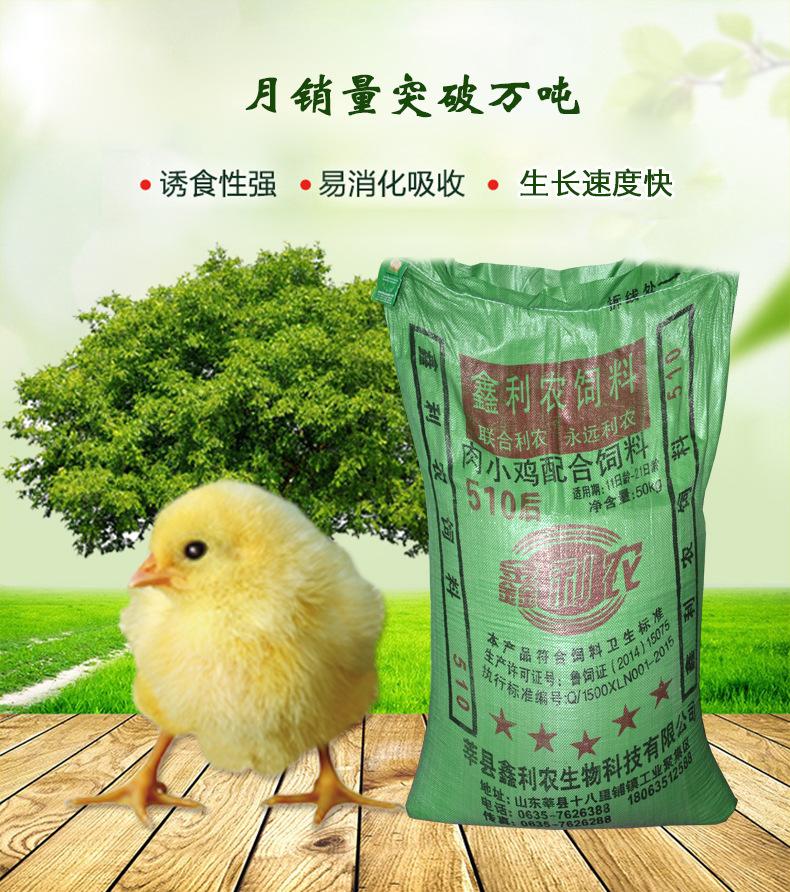 Các nhà sản xuất phân phối 817 loạt thức ăn cho gà thịt 510 trong 7-21 ngày.