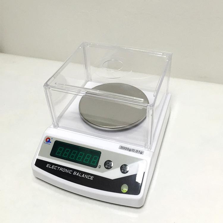 Nhà máy trực tiếp Thượng Hải Puchun JE3002 cân bằng điện tử 3000 gam / 0.01 gam percentile thí nghiệ
