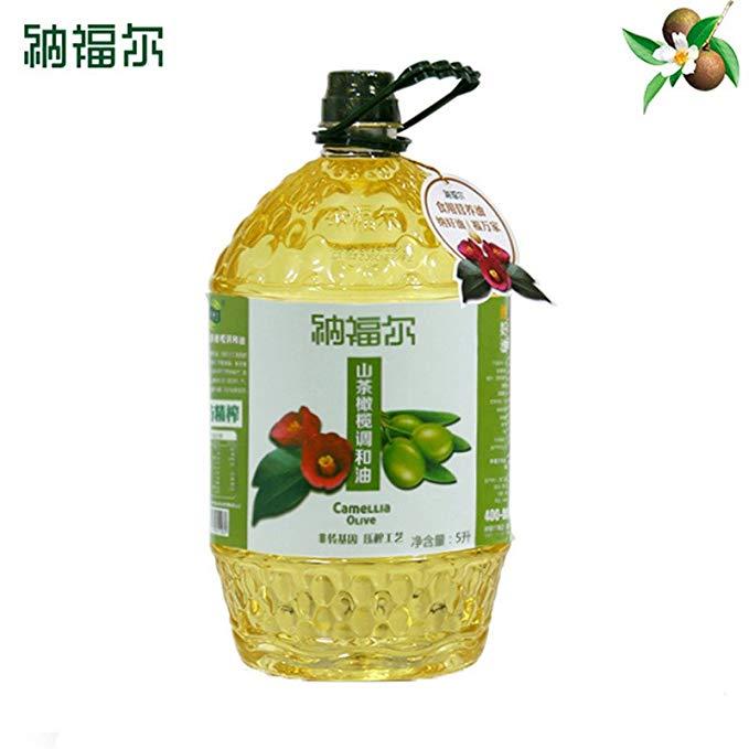 Nafir Núi Trà Dầu Ô Liu 5000 ml Camellia Dầu Ô Liu và Vật Lý Bóp Thực Vật Khỏe Mạnh Ăn Được Hạt Giốn