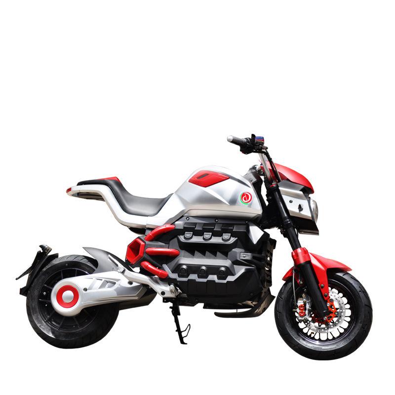 xe máy điện mô tô kiểu thể thao cho nam .