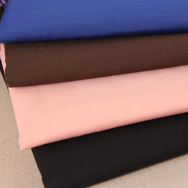 Nhà máy bán buôn Mùa Xuân và mùa hè đồng phục pha trộn vải vải Đa quy định yếm đồng bằng vải polyest