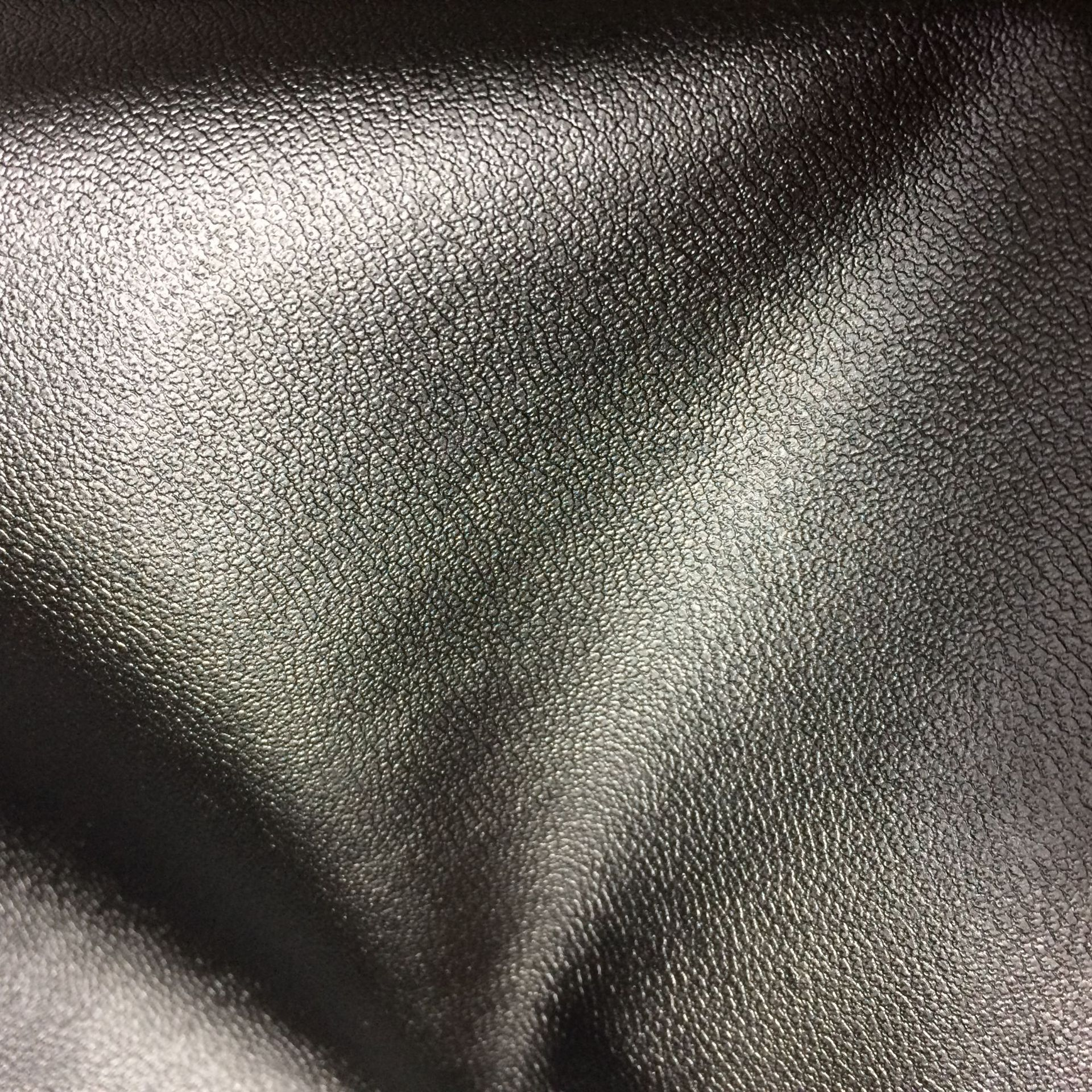 Nhà máy trực tiếp quần áo trang trí viền với cừu đen mô hình B40 mô hình dưới vi đàn hồi mềm PU da t