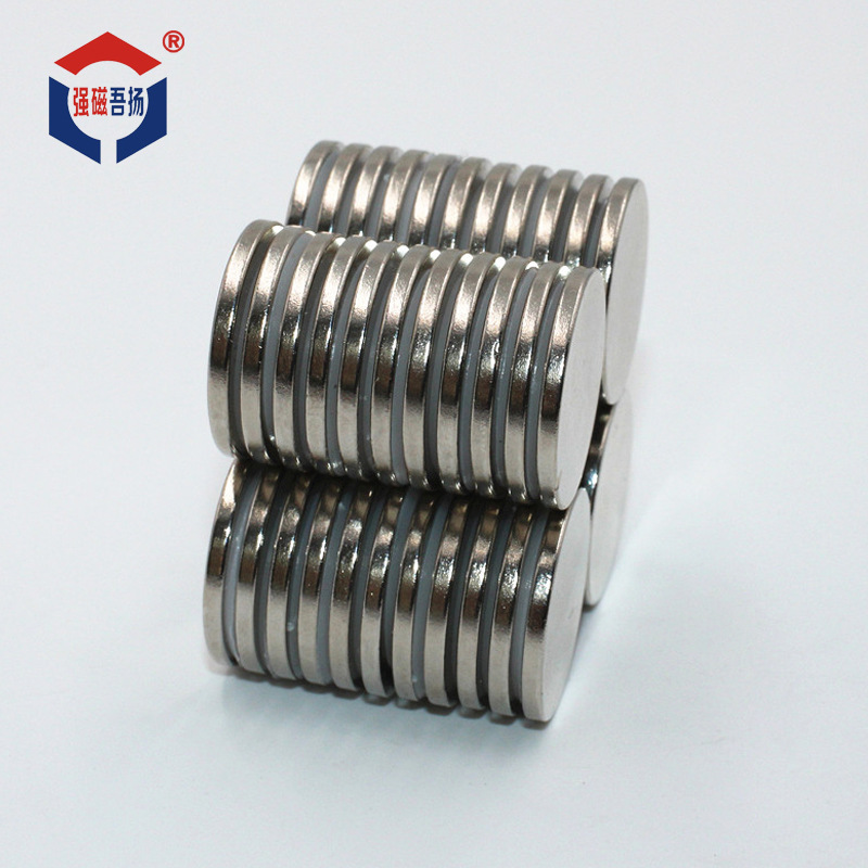 Nhà sản xuất bo tròn giá sắt như nam châm Neodymi N35 phim mạnh mẽ từ đá nam châm vùng nam châm N38