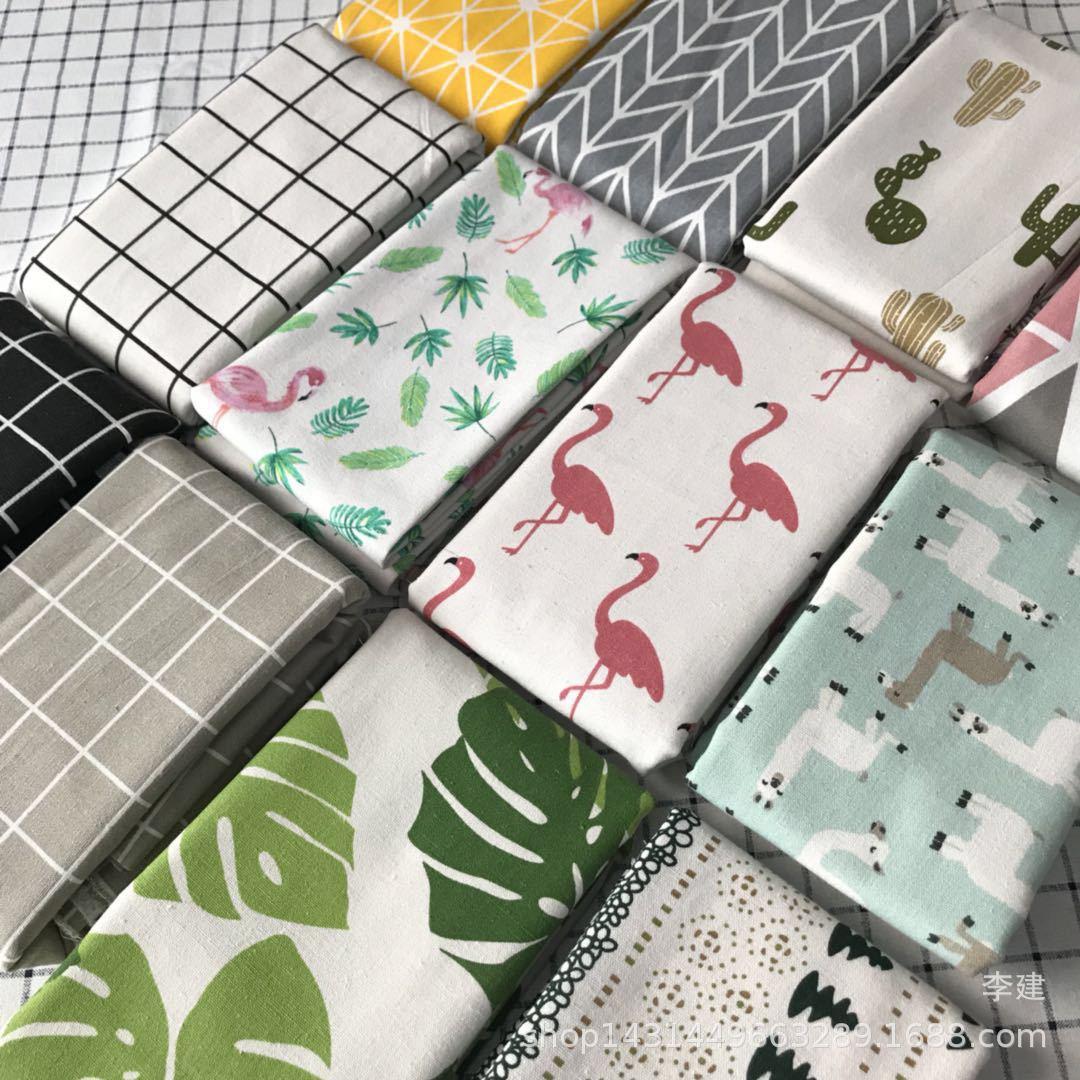 Nhà máy vải trực tiếp vải 5140 canvas in ấn có thể được sử dụng cho khăn trải bàn, hành lý, số lượng