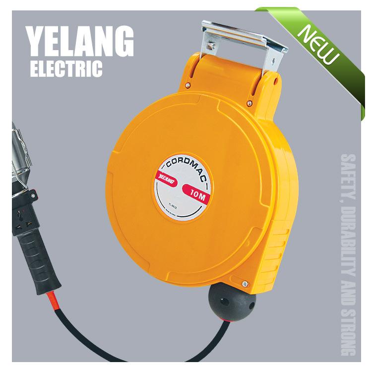 Mini tự động thu vào reel YL-A801 cáp reel, khay cáp, tổng đài