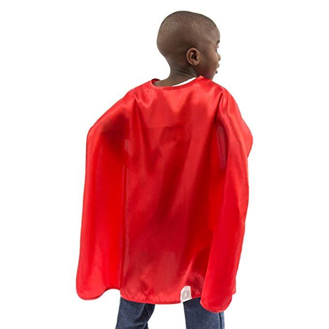Áo choàng trẻ em siêu nhân màu đỏ Everfan