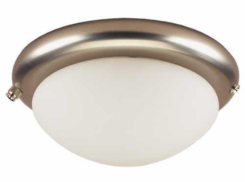 Westinghouse thiết kế và kết hợp quạt trần ánh sáng kit, nhôm chải