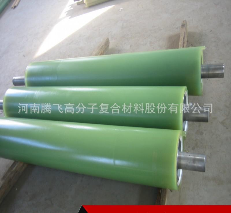 Customize all kinds of materials heat resistant roller, wear resistant rubber roller, polyurethane c
