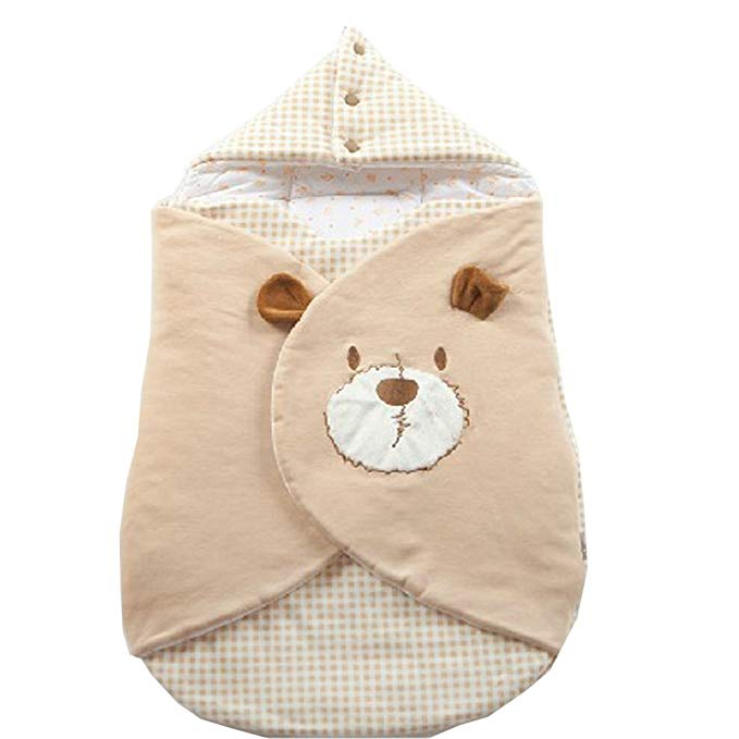 Khăn quấn cotton cao cấp cho trẻ sơ sinh đa năng .