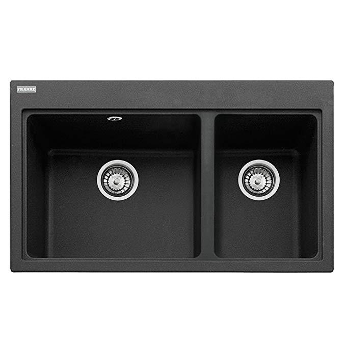 Vật dụng cho Nhà bếp : bồn rửa chén Máng Lớn và máng nhỏ 620-80 114.0367.675 .