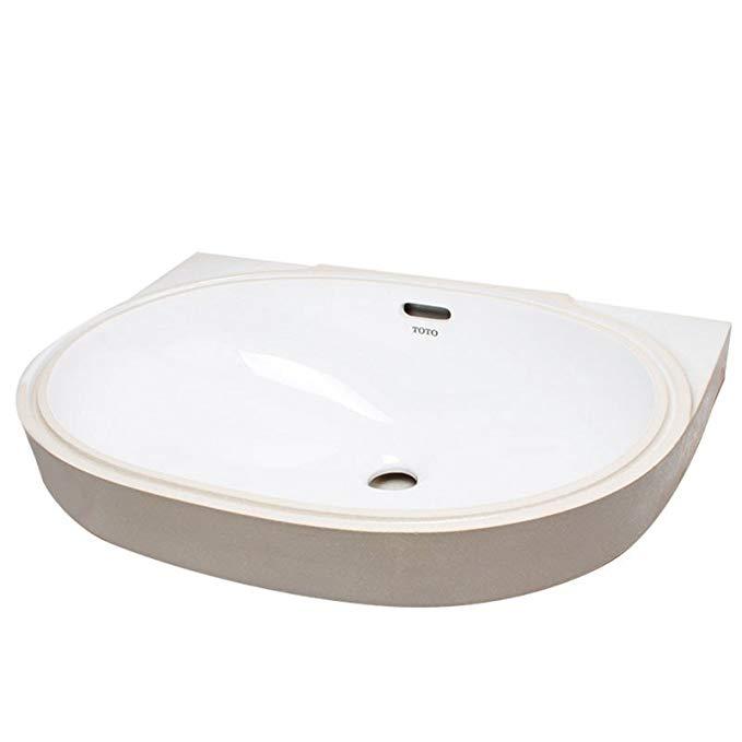 Bồn rửa Mặt cao cấp bằng Gốm sứ TOTO - LW548B
