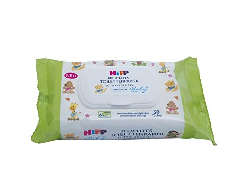 Cheers giấy vệ sinh trẻ em ướt nhẹ, 6 gói (6 X 50)