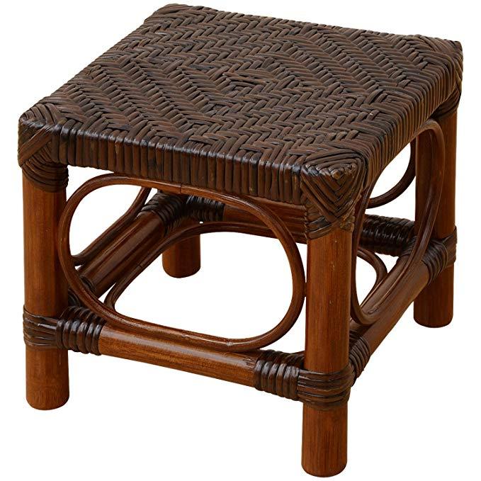 (YAMAZEN)- Ghế Ngồi bằng Gỗ có đan mây , thiết kế đơn giản .