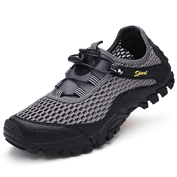 Giày đi bộ nam dạng vải lưới FeO DvKe SDX45-1808F
