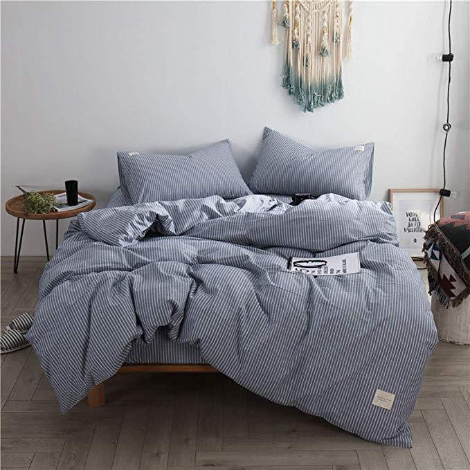 R. Xkarina Ma Di Rina Nhật Bản-phong cách bộ đồ giường Bốn mảnh cotton cotton 1.8 m mét bộ đồ giường