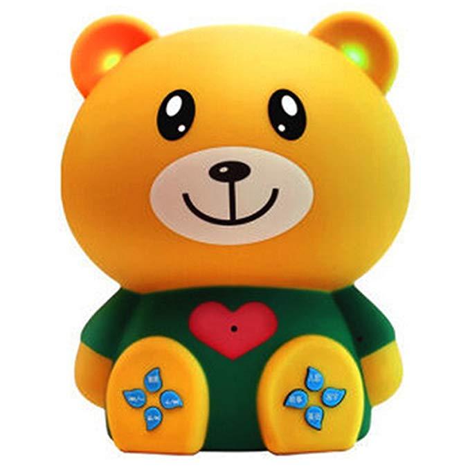 Máy nghe nhạc, kể chuyện cho bé hình gấu KMI