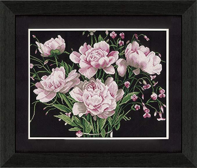 Tranh thêu chữ thập hoa hồng Cross Stitch Lanarte