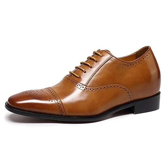 Giày tây công sở nam mũi nhọn CHAMARIPA K6531-1