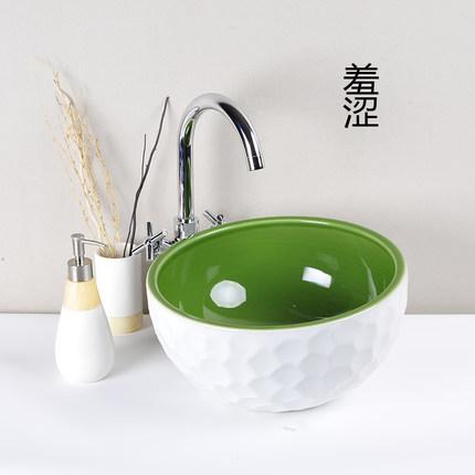 Bồn rửa Mặt bằng gốm sứ Thiết kế đơn giản , Hàng nhập chính hãng .