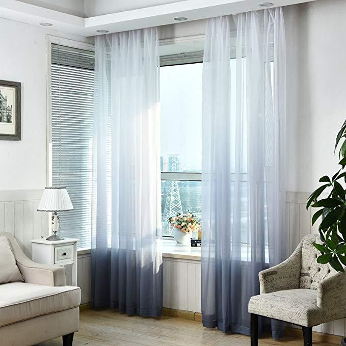 Jiarui Hàn Quốc mực phong cách màu gradient màn hình phòng khách phòng ngủ phòng ăn trẻ em phòng màn