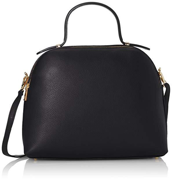 Túi xách nữ CTM với dây đeo vai bên trong, da mềm  được sản xuất tại Ý.
