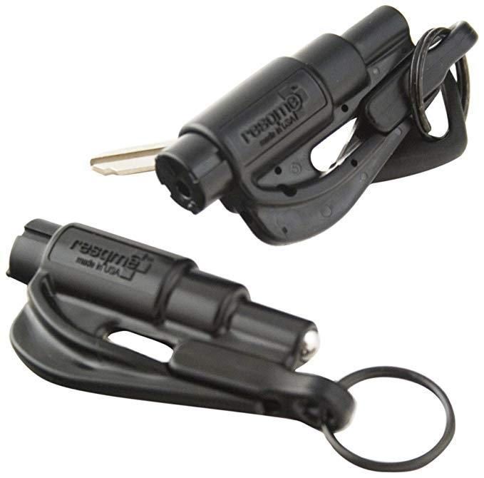 Resqme Công cụ thoát hiểm xe hơi Keychain gốc, Made in USA .