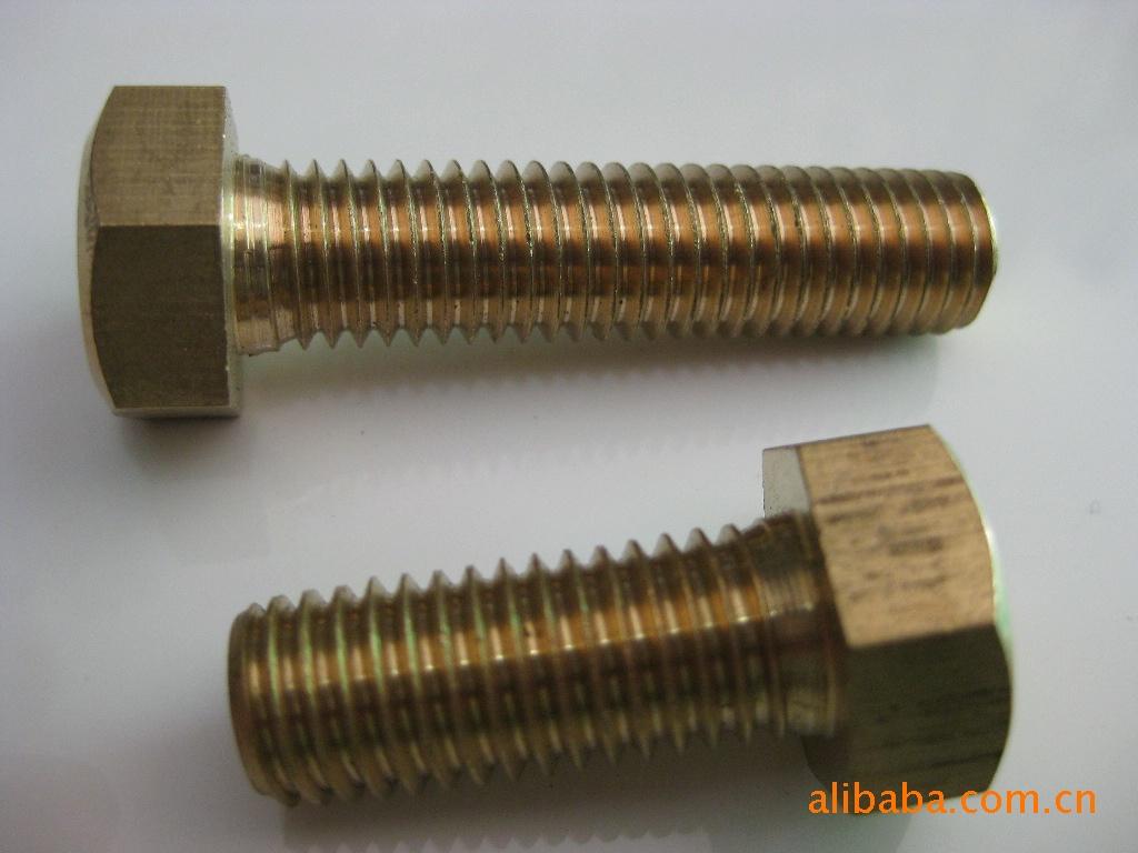 Nhà sản xuất 59-62H đồng sáu góc ngoài sáu góc đồng bolt đồng bu lông ốc vít