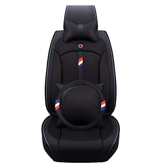 Drap đệm bọc ghế xe hơi với thiết kế đơn giản , sang Trọng .