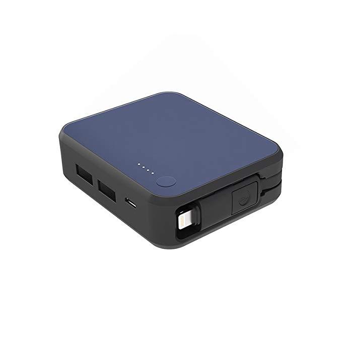 Luxtude cáp điện dòng phí 6000 mAh điện thoại di động sạc kho báu / điện thoại di động polymer nhỏ g
