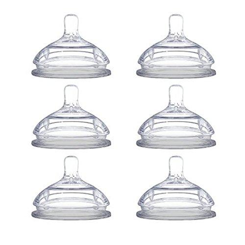 Comotomo Nipples - Núm Vú Thay Đổi cho bình sữa , set 3 hộp mỗi hợp 2 cái .