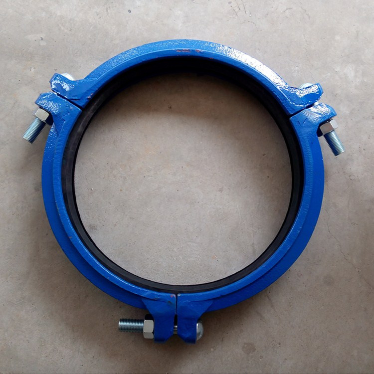 Wholesale ductile iron groove clamp 16 inch 30 kg pressure groove pipe card