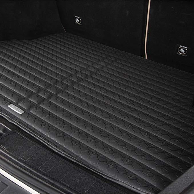 Chebangshi BMW 4 Series (4 cửa) Đặc biệt xe da xe phía sau hộp mat chống trượt pedal in đuôi kho pad