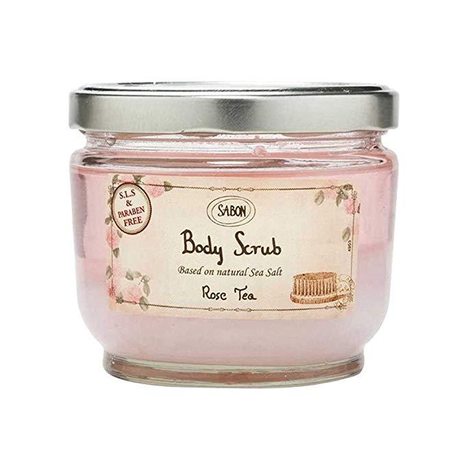 SABON Dead Sea Salt Body Chà Rose Tea Rose Tea 600g (Thương hiệu Israel)