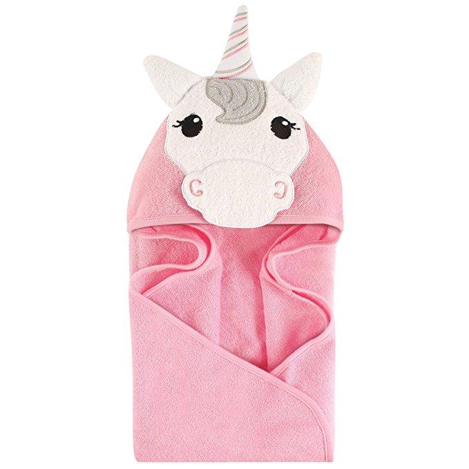 Hudson Baby Animal Khăn trùm đầu, Unicorn, 33''x33 ''