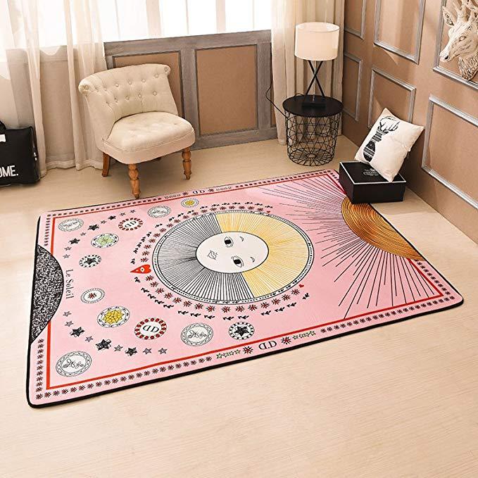 JHLongess Yoga mat hai mặt bò mat bò thảm thảm độ ẩm pad trẻ em bé leo mat mat mat bé trò chơi mat n