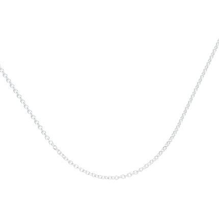 Tiffany & Co. / Tiffany thủy triều đích thực sterling bạc vòng cổ đơn giản xương đòn nữ chuỗi 276771