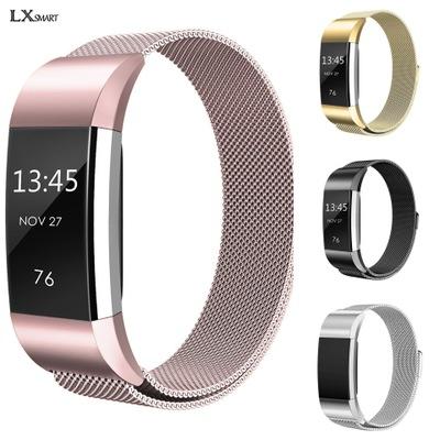 Charge2 vòng đeo tay thông minh dây đeo kim loại Milan lưới vành đai Fitbit charge2 Milan thép không