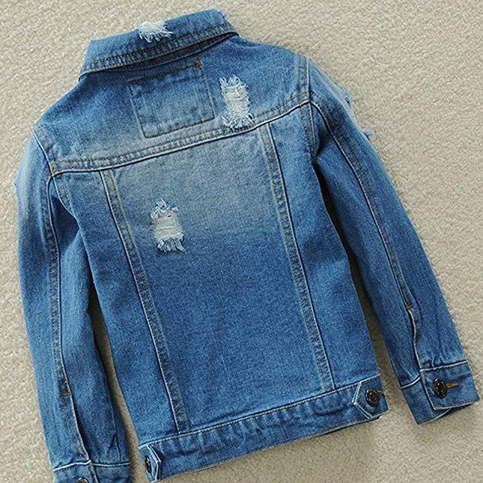 Tiến sĩ Barra Trai Trai và Cô Gái Jeans Áo Khoác Mùa Xuân và Mùa Thu Mùa Đông Cao Bồi Scorpion Stret