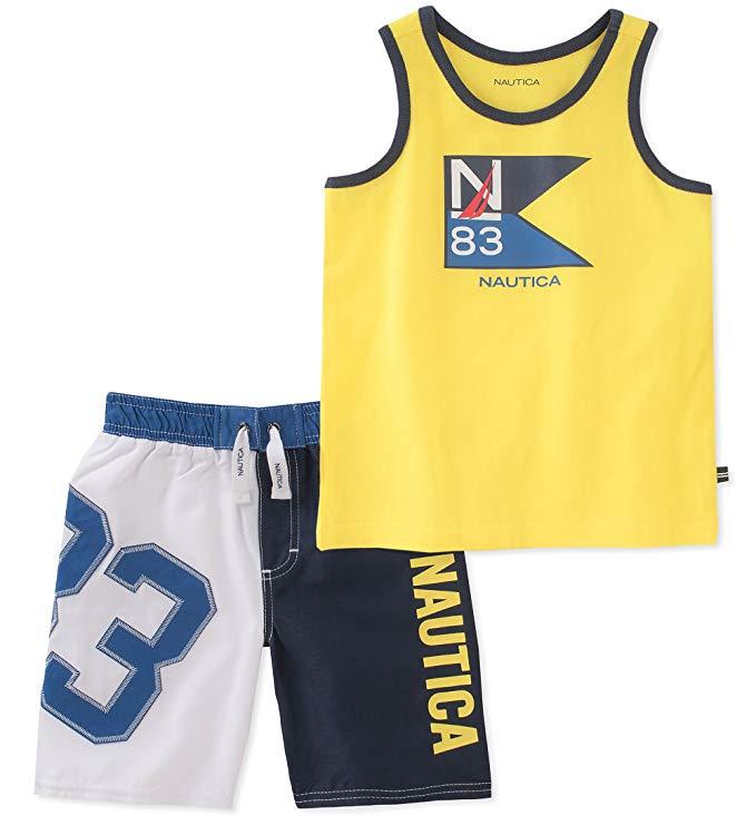 Nautica Boys Vest cộng với quần short