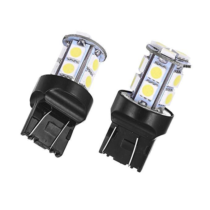 Đèn trắng LED 13 hạt , đèn xe bật tín hiệu .